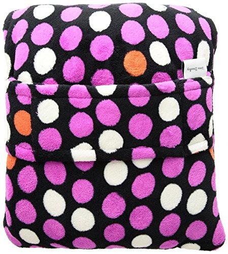 (Vera Bradley Travel Blanket, Fleece, butterfly spots)