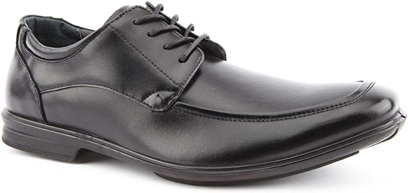 Hush Puppies Mens Gravity Oxford Black Lace Up Shoes Size 12 Amazon Co Uk Shoes Bags