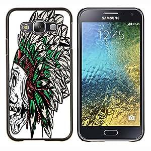 Dragon Case - FOR Samsung Galaxy E5 E500 - Now or never - Caja protectora de pl??stico duro de la cubierta Dise?¡Ào Slim Fit