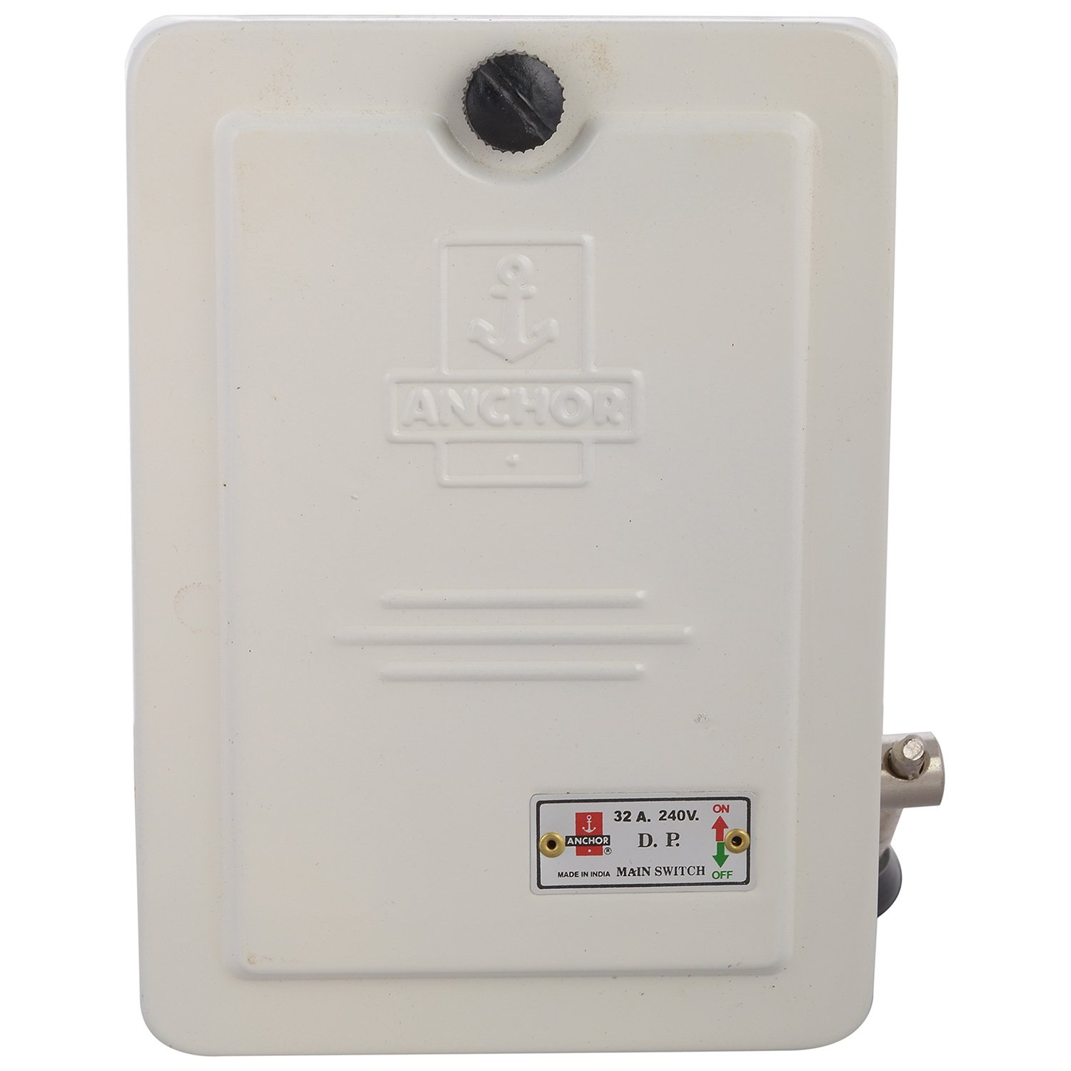 Anchor 17626 Main Switch Dp 32 Amp 240 V White Home 100 Fuse Electrical Box Improvement