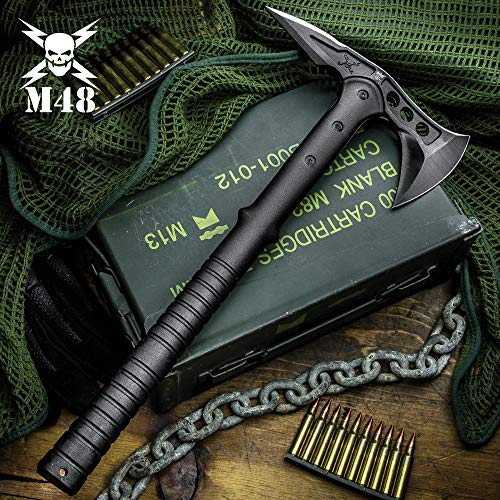 (M48 Tactical Tomahawk Axe with Durable Nylon Sheath)