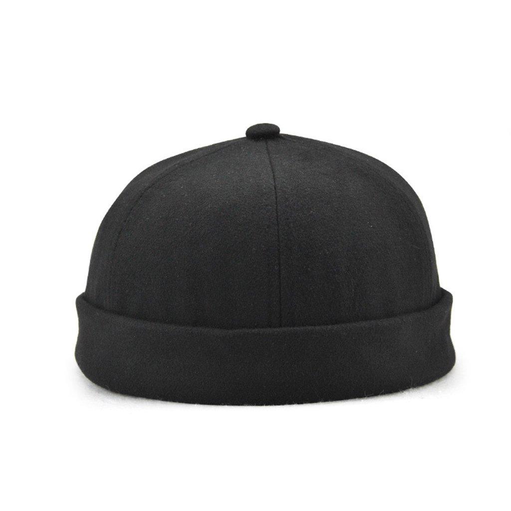 9e2b6487e52 Men s Skullcap Docker Leon Beanie Cap Pure Cotton (Black) at Amazon Men s  Clothing store