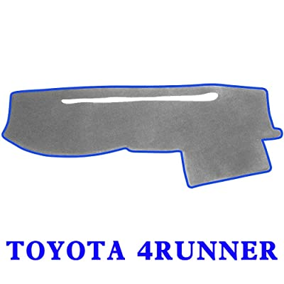 JIAKANUO Dash Cover Fit for Toyota 4RUNNER 2003-2009,Dashboard Mat Sunshield Protector Pad Non-Slip,Extra Thick, Anti-Glare (Gray-Blue,MR-017): Automotive