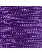 PARACORD PLANET Micro Cord 1.18mm Diameter 125 Feet Spool of Braided Cord - Available in a Variety of Colors Made in The USA