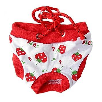Goodid braga pantalones de algodón con correa ajustable para perro perra,machos y embra,