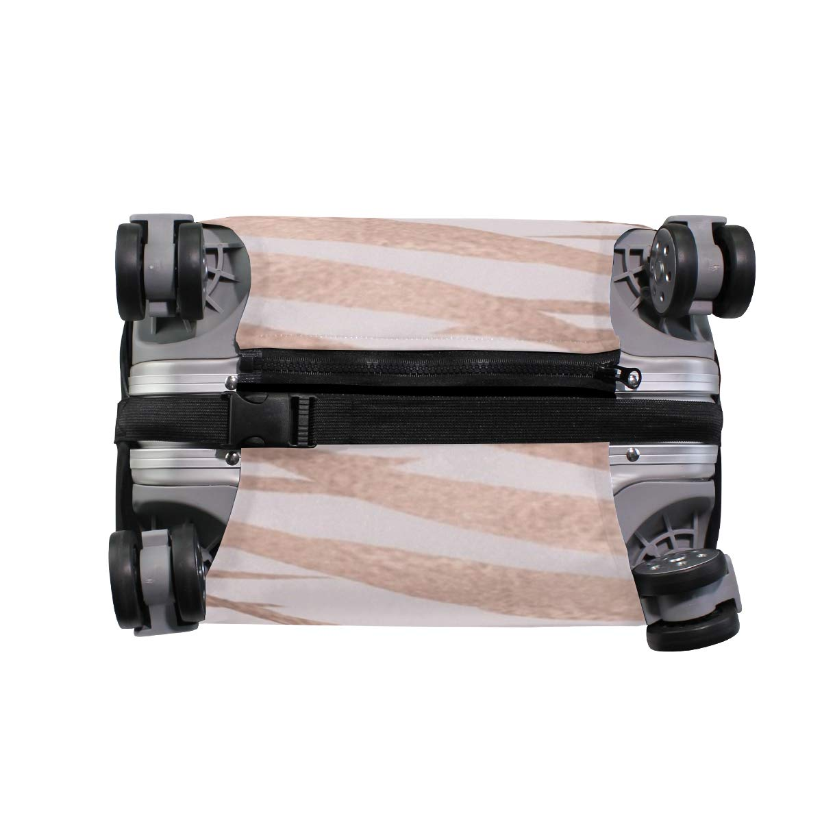 Rose Gold Marble Tropical Traveler Lightweight Rotating Luggage Cover Can Carry With You Can Expand Travel Bag Trolley Rolling Luggage Cover
