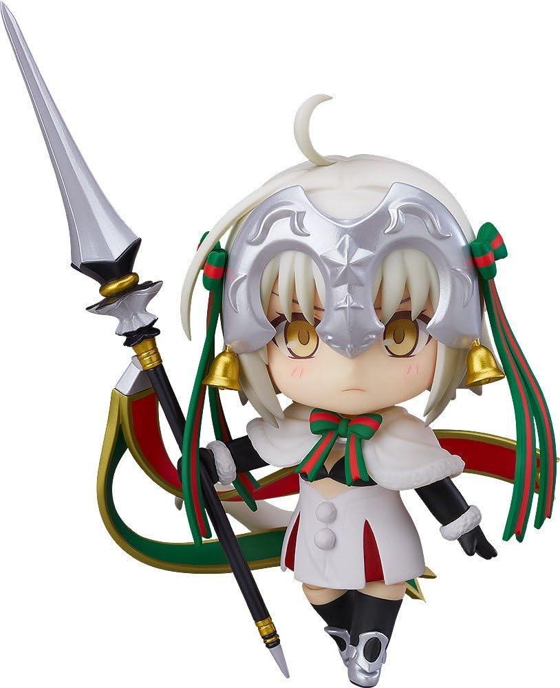 Amazon Com Good Smile Fate Grand Order Lancer Jeanne D Arc Alter Santa Lily Nendoroid Action Figure Toys Games