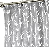 84 Inch Shower Curtain le volet Extra Long Shower Curtain Fabric Shower Curtains Bathroom Curtains Arrow Gray Shower Curtain,72