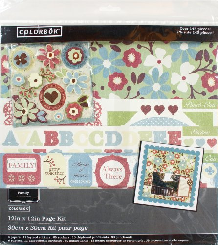 Colorbok Family Ties Scrapbook Page Kit 12