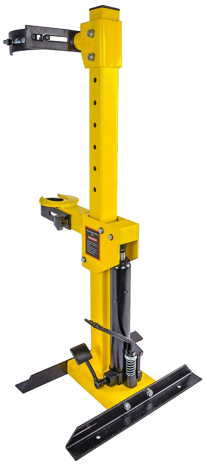 JEGS 80617 Strut Coil Spring Compressor Hydraulic Foot Pedal Assist Capacity: 1- by JEGS (Image #3)