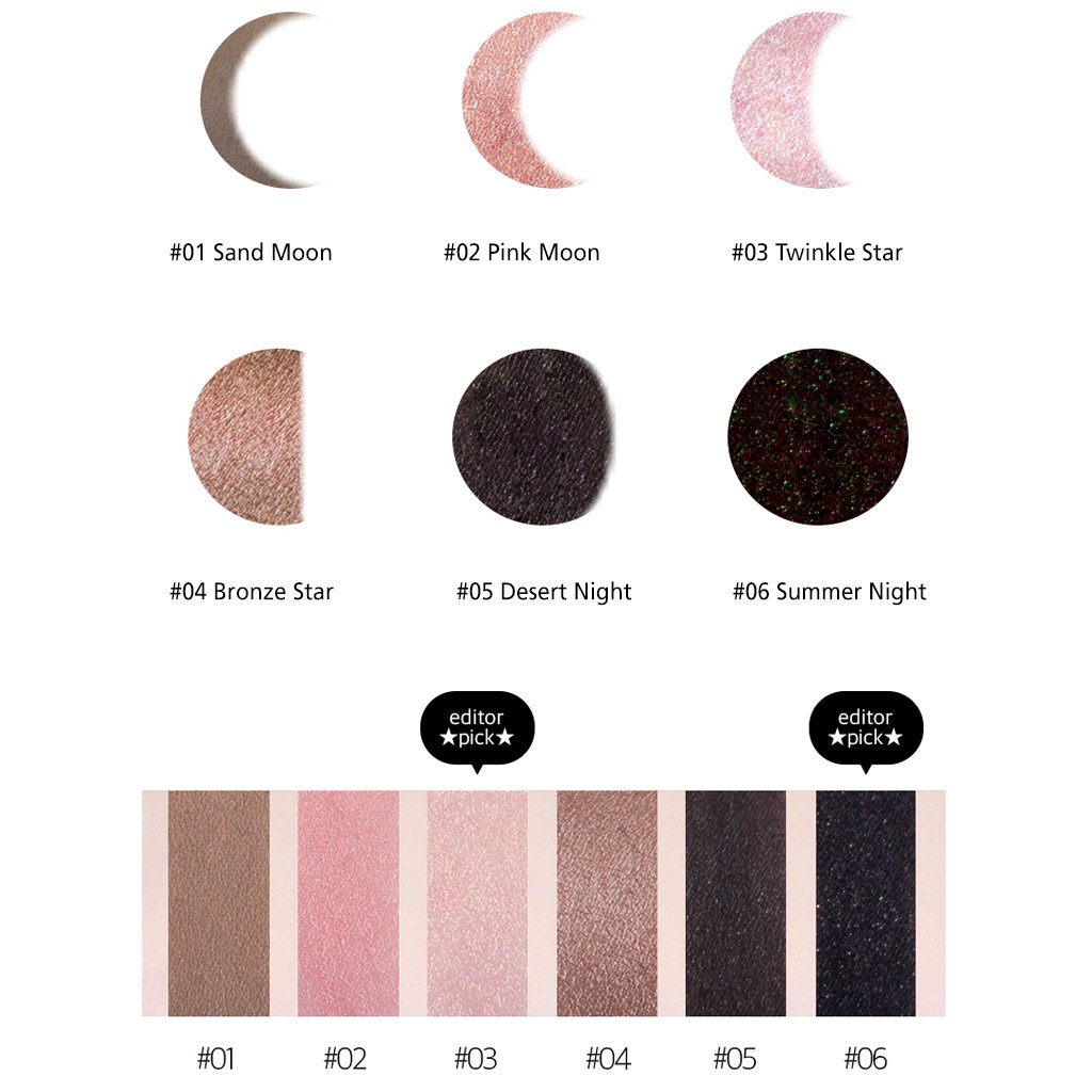 [KARADIUM] Fullmoon Stick Eye Shadow 1.4g - 6 Colors/Daily Eye Makeup (#6 Summer Night) by KARADIUM (Image #5)