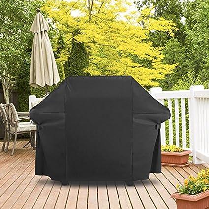 Essort Cubierta barbacoa impermeable, toalla Protección para BBQ Grill Protección UV, Grill ropa de