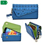Apple iPhone SE Wristlet phone case Ideal to protect and organize your Cash/Cards/Phone in one