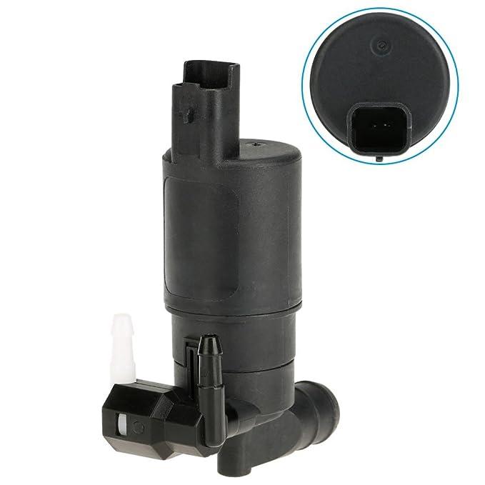 KKmoon 12V Bomba de Agua Lavadora de Parabrisas Doble Salida Lavado para Coche Citroen Xsara Picasso: Amazon.es: Coche y moto