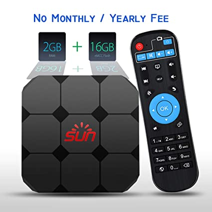 IPTV Receiver Box Brazilian Arabic India Europe American 1600+  International Live Channels SunTV, Lifetime Subscription Without  Monthly/Yearly Fee