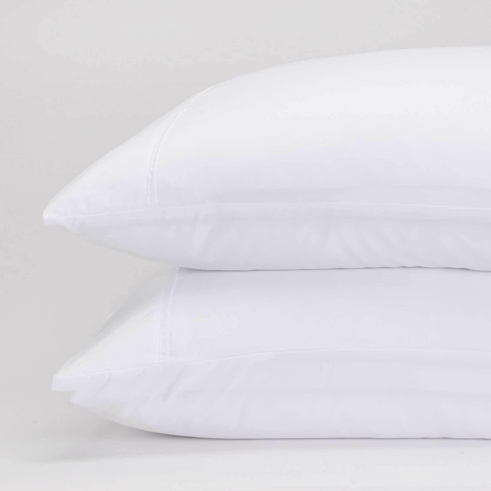 Jennifer Adams Home Classic Eternal Pillowcase Set (Standard, White)