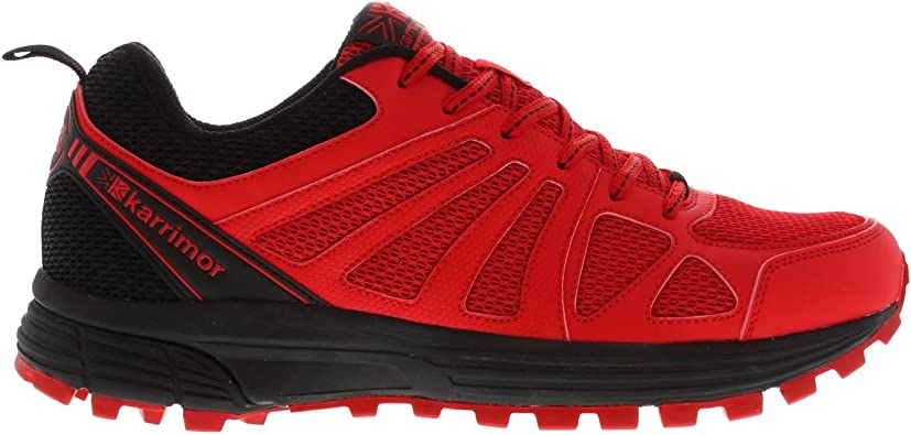 Karrimor Hombre Caracal Zapatillas De Trail Running Rojo/Negro EU 45 (UK 11): Amazon.es: Zapatos y complementos