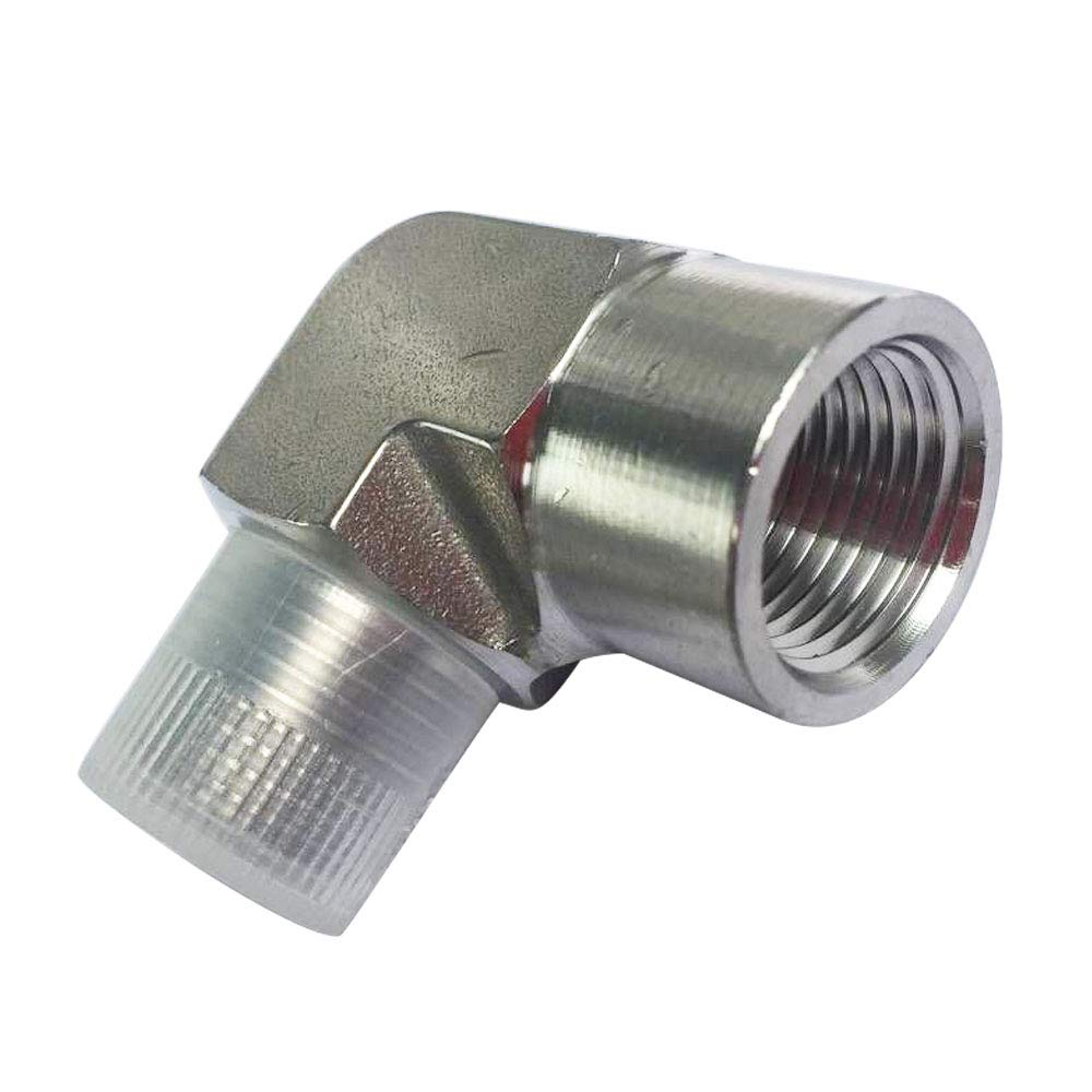 Avanty 1//4 NPT Male x 1//4 NPT Female Street Elbow Stainless Steel 304 Forged 90 Degree Pipe Fitting