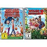 Wolkig mit Aussicht auf Fleischbällchen 1+2 im Set - Deutsche Originalware [2 DVDs]