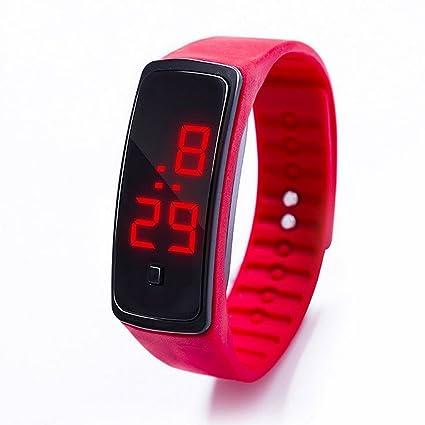 ISEE Smartwatch Children Sport Activity Alarm Screen Watch for Kids (Red)