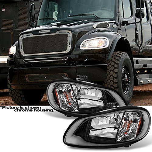 - For [Black] 2004-2012 Freightliner Business Class M2 | 2003-2013 M2 106 Headlights Left & Right Pair Set