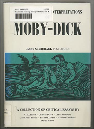 twentieth century interpretations of moby dick a collection of  twentieth century interpretations of moby dick a collection of critical essays a spectrum book michael t gilmore 9780135860571 com books