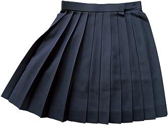 WKRK4 紺無地 W60・63・66・69・72 丈42・48・54cmKURI-ORI[クリオリ]スリーシーズンスカート seifuku skirt