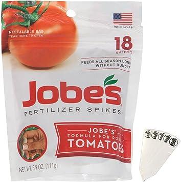 Jobe de tomate fertilizante picos, 6 – 18 – 6 Fórmula de ...