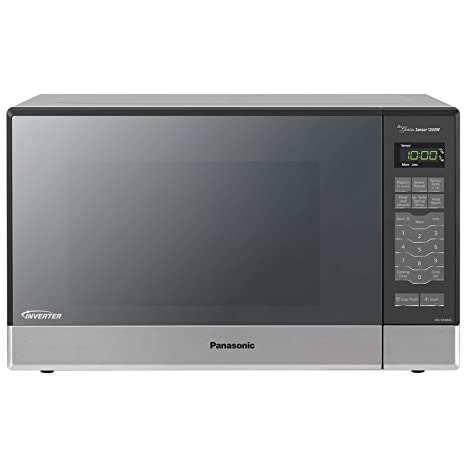 Panasonic Microwave Oven NN-SN686S Stainless Steel Countertop/Built-In with  Inverter Technology and Genius Sensor, 1 2 Cu  Ft, 1200W