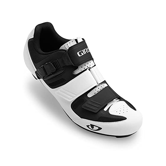Apeckx II White Black Road Bike Shoes Size 40