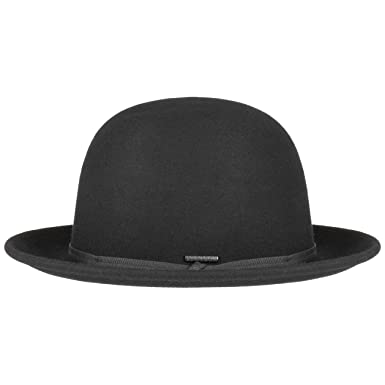323c0be840cc62 Stetson Tilbury Bowler Hat Men Black 7 1/4-7 3/8 at Amazon Men's ...