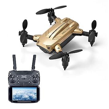 BAZ Mini Drone Plegable Altura Fija WiFi Cámara Aérea en Tiempo ...