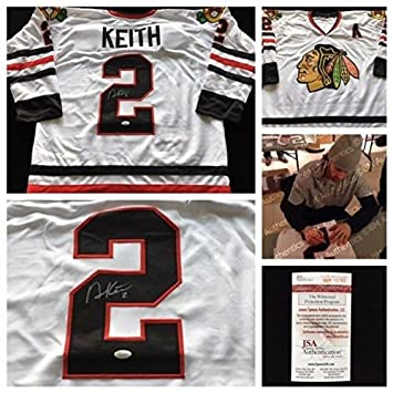 competitive price 6979c 81f2f Duncan Keith Chicago Blackhawks Autographed Signedgraph NHL ...
