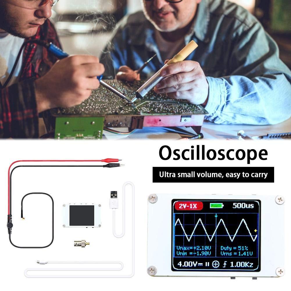 Window-pick DSO188 Handheld Mini Pocket Portable Ultra-Small Digital Oscilloscope 1M Bandwidth 5M Sample Rate Digital