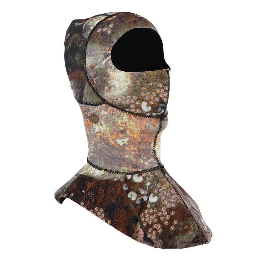 D DOLITY 3mm Neopren Kopfhaube Tauchhaube Unterwasseratemger/ät Neoprenhaube mit Halsmanschette zum Tauchen Schwimmen Schnorcheln