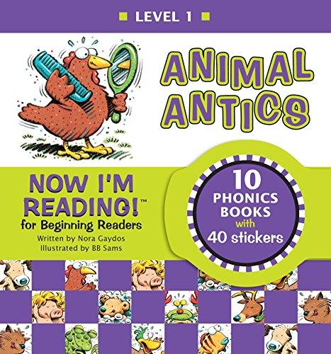 Now I'm Reading! Level 1: Animal Antics (NIR! Leveled Readers) ()