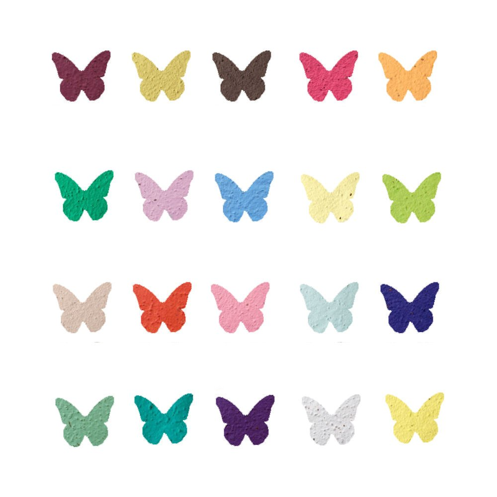Amazon Plantable Seed Paper Butterfly Party Wedding Favors