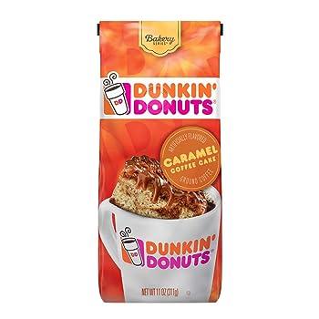 Dunkin' Donuts Caramel Coffee Cake Flavored Coffee