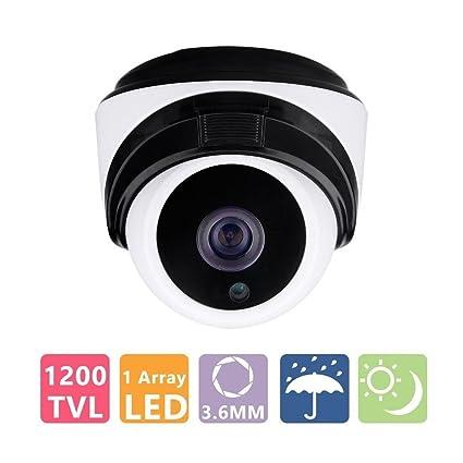 COSOOS 1/3 CMOS 1200TVL CCTV Seguridad para el Hogar A Prueba de Intemperie 1pc