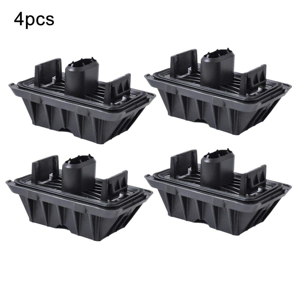 Liteness Under Car Jack Support Pad Car Rubber For BMW 5 Series E60 E61 X3 Plastic Material Black Color