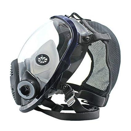 Mascarilla respiratoria, Anti amoníaco Gas Polvo máscara de respiración Doble con Filtro, para la