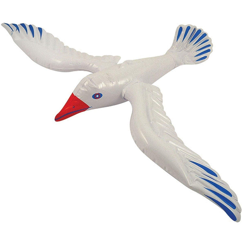 fashioncrazexx Pájaro de gaviota inflable de 76 cm, accesorio para ...