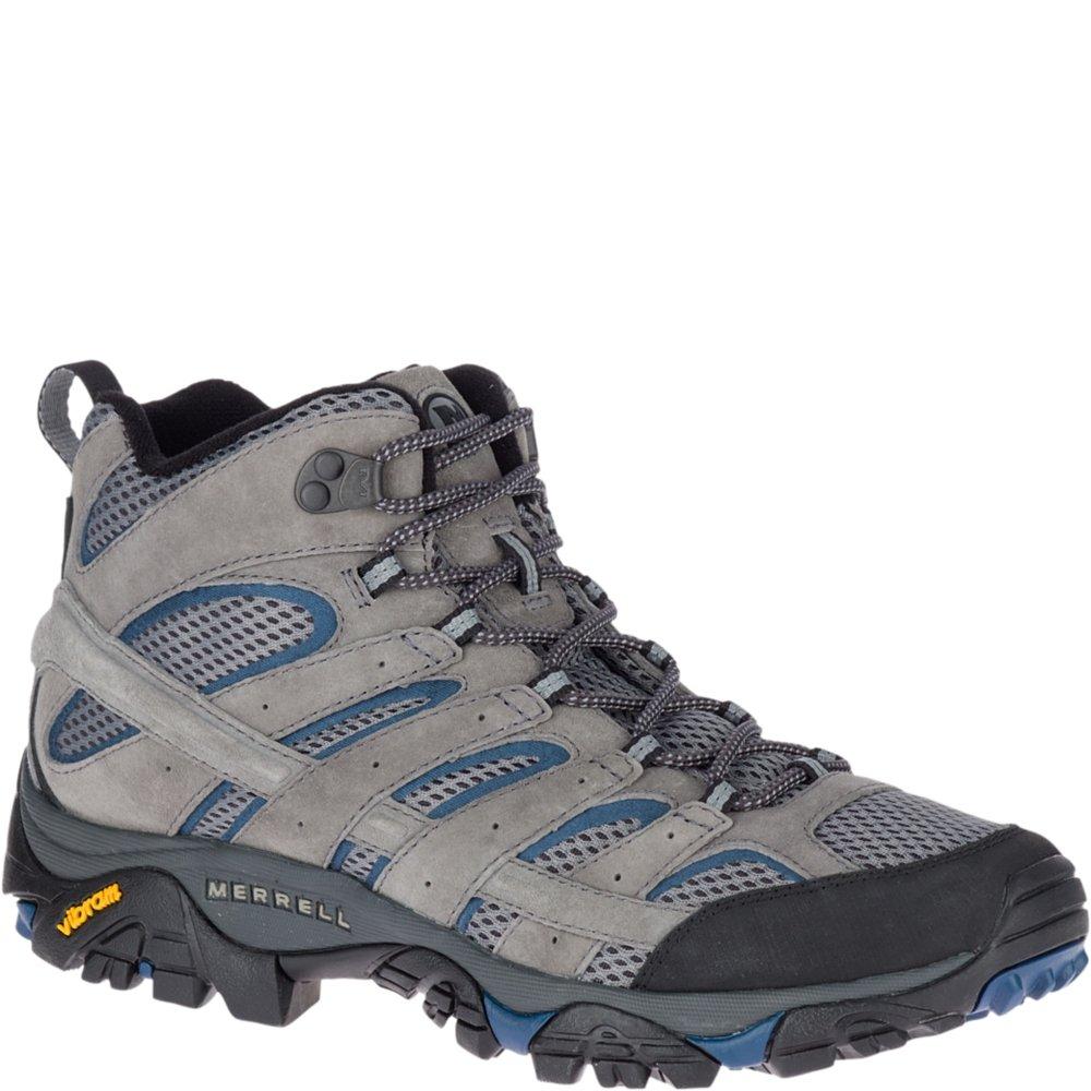 Merrell Men's Moab 2 Mid Vent Sneaker, Castle/Wing, 10.5 M US