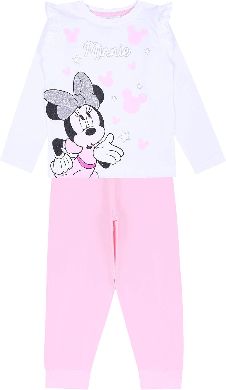 Minnie Mouse Pijama Rosa Claro Disney : : :