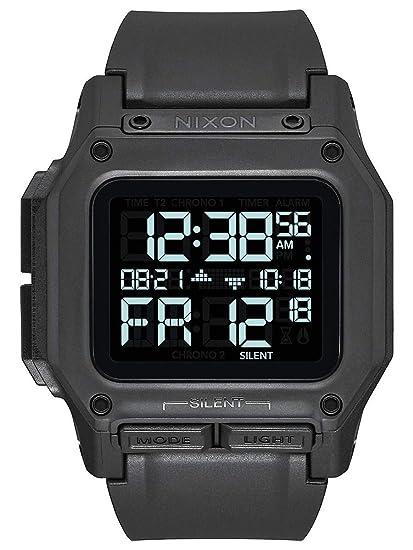 Nixon Regulus Digital reloj todos los Negro