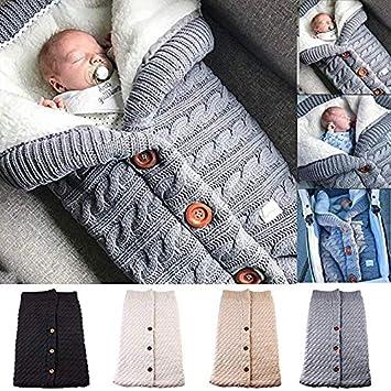 Amazon.com: Manta para bebé recién nacido, de forro polar ...