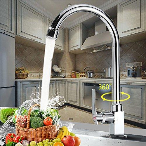 Ceramic Valve Zinc Alloy Kitchen Basin Sink Water Tap Faucet Bathroom Wash Basin Faucet Single Cold Mixer Tap