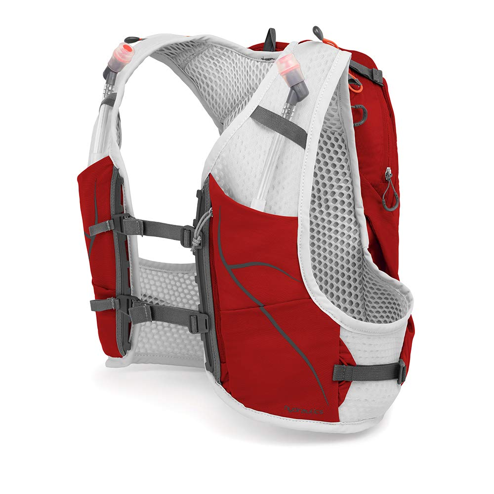 Osprey Duro Running Hydration Pack with 2X 500ml Hydraulics Soft Flasks Mixte