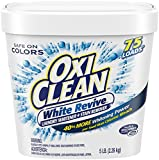 oxy clean detergent pods - Oxiclean White Revive Powder, 5 Pound