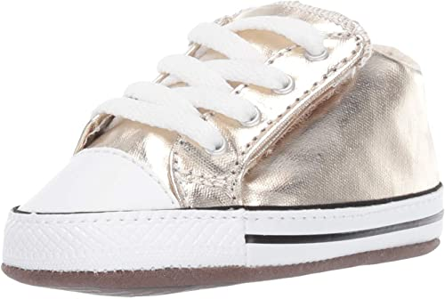 Converse Kids' Chuck Taylor All Star Cribster Metallic Easy Slip on Baby Sneaker
